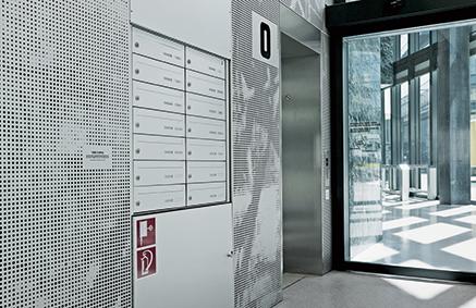 stebler briefkasten produkte postverteilanlage s 177 s 180. Black Bedroom Furniture Sets. Home Design Ideas
